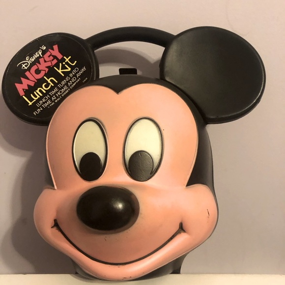 Mickey Mouse Lunchbox & Thermos vintage